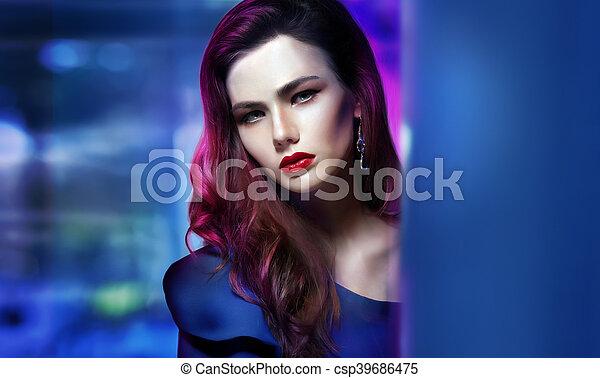 Portrait of a woman. - csp39686475