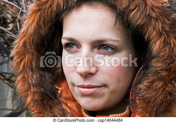Portrait of a young girl - csp14044484