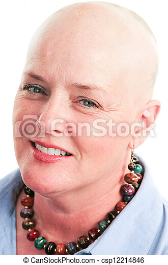 Portrait of Cancer Survivor - csp12214846