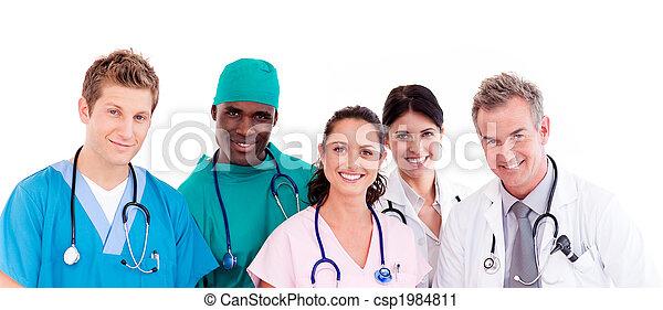 Portrait of doctors - csp1984811