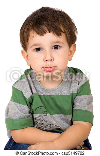 Portrait of little boy - csp5149722