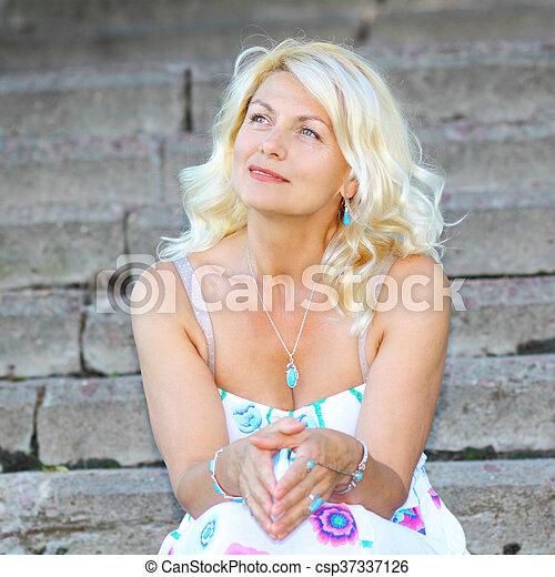 Blonde mature images 30