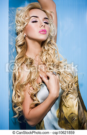 Portrait of sexy woman - csp10621859