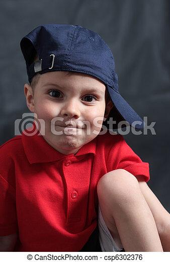 Portrait of the boy - csp6302376