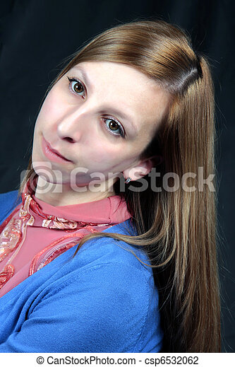 Portrait of the girl - csp6532062