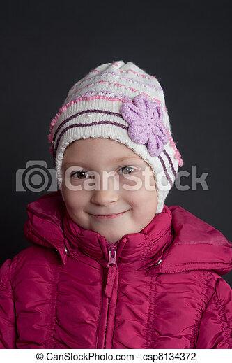 Portrait of the girl - csp8134372