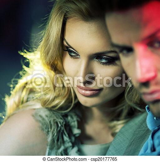Portrait of the sensual couple - csp20177765