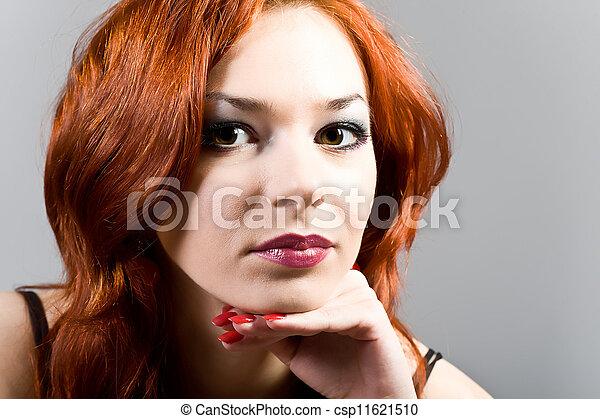 Portrait of the woman - csp11621510