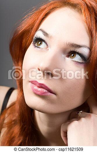 Portrait of the woman - csp11621509