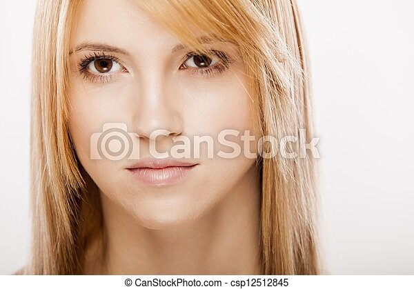Portrait of the young woman - csp12512845