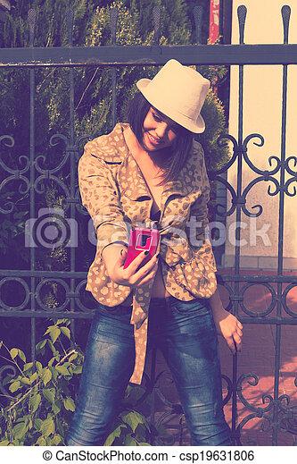 portrait, selfie - csp19631806