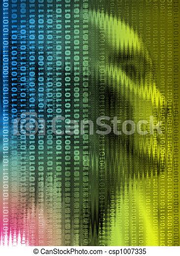 portrait technology - csp1007335