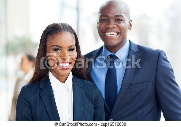 portret, afrykanin, handlowy zaprzęg - csp16512830