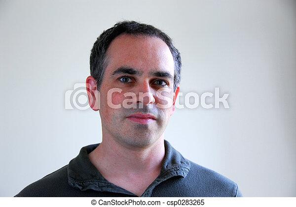 portret, człowiek - csp0283265