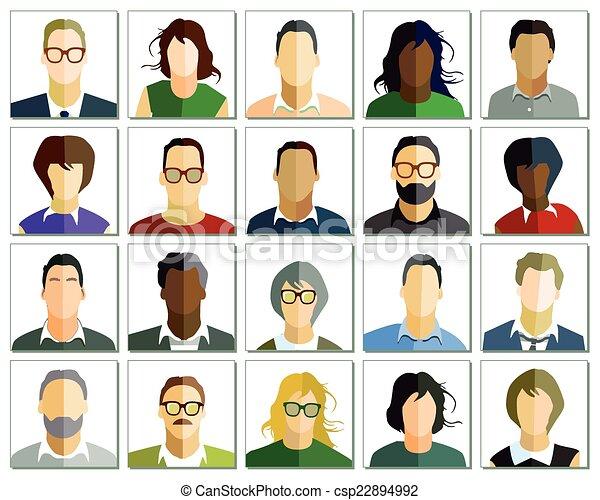 portret, ludzie - csp22894992