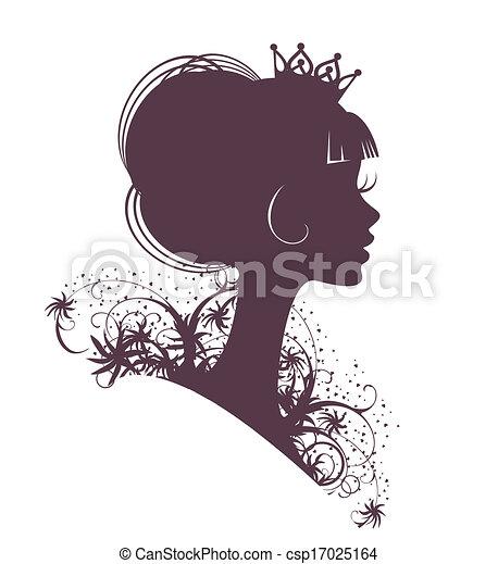 portret, princess3 - csp17025164