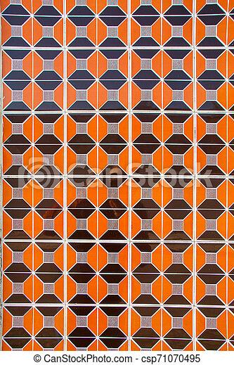portugais, tuiles, azulejo - csp71070495