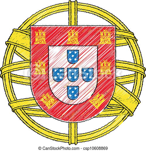 Portugal coat of arms - csp10608869