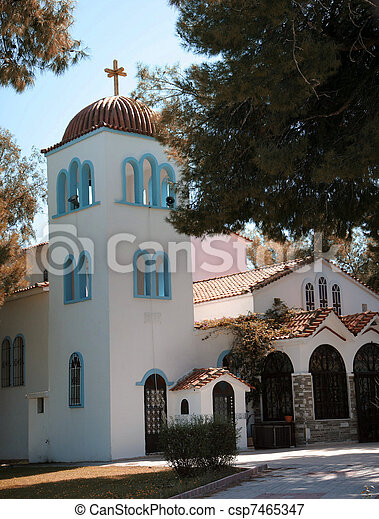 Una iglesia en Portugal - csp7465347