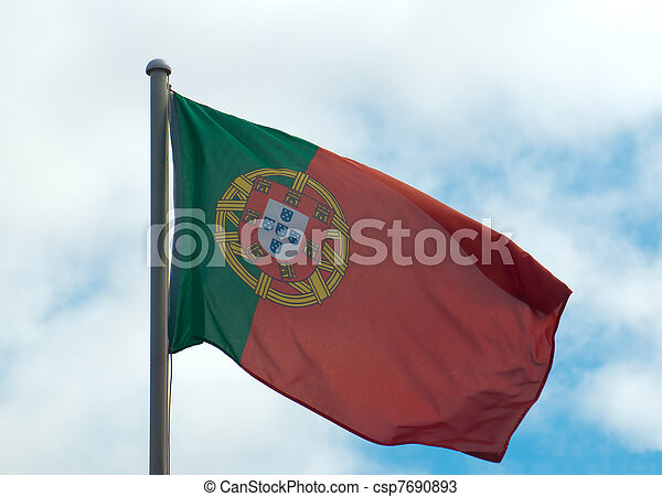 Portugese Flag - csp7690893