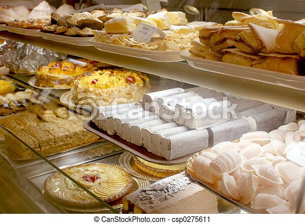 Portugiesische Bäckerei - csp0275611