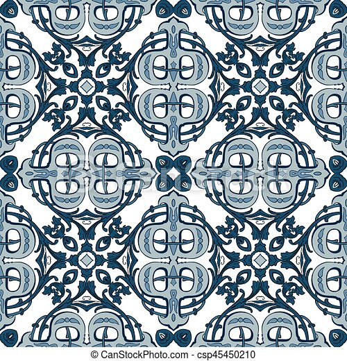 Azulejos portugueses - csp45450210