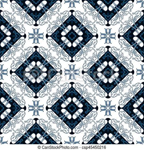 Azulejos portugueses - csp45450216