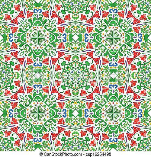 Azulejos portugueses - csp16254498