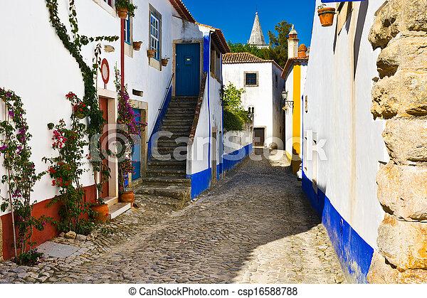 Ciudad portuguesa - csp16588788