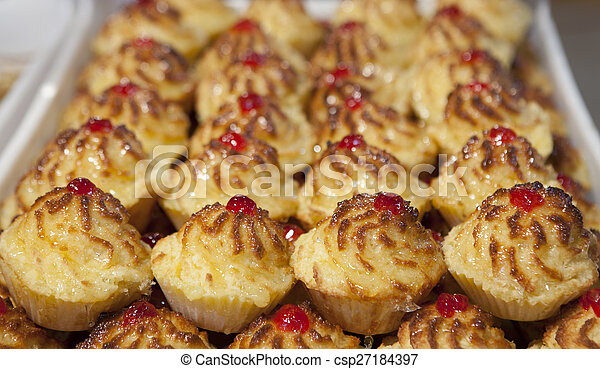 Pastas portuguesas Cononut - csp27184397