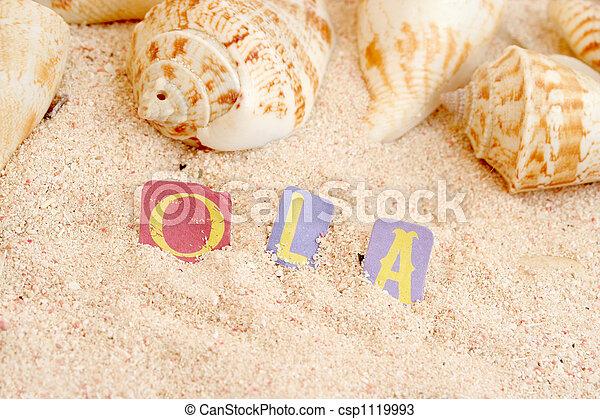 Playa portuguesa - csp1119993