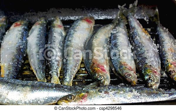 sardinas portuguesas. - csp4298546