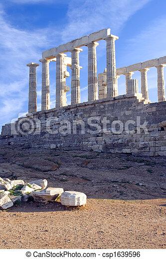 Templo de Poidon - csp1639596