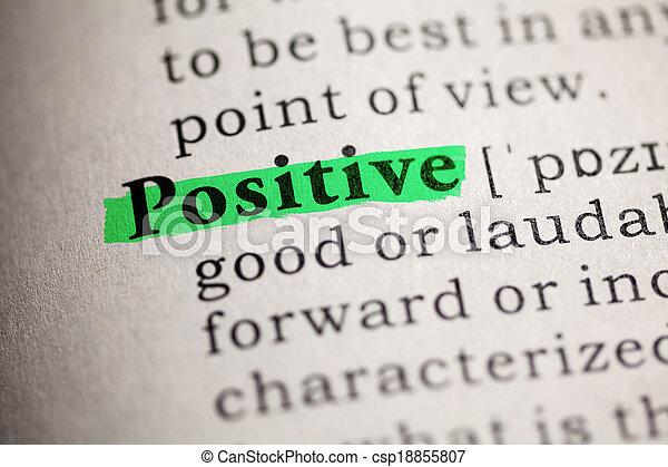 positief - csp18855807