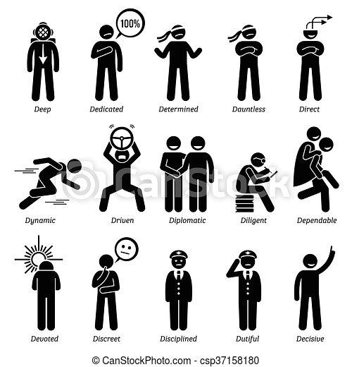 Positive Character Traits - csp37158180
