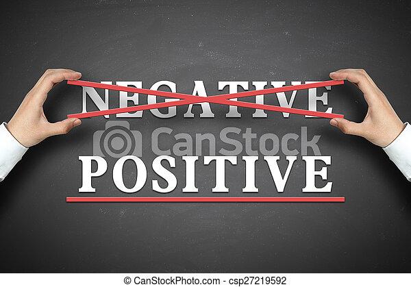 Concepto positivo - csp27219592