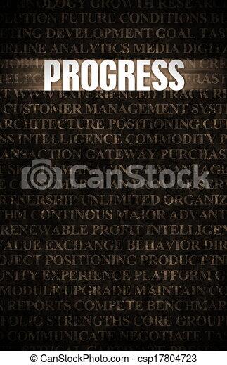 postęp - csp17804723