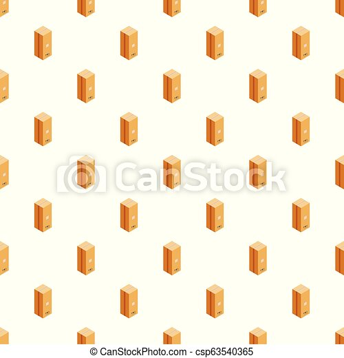 Post box pattern seamless vector - csp63540365