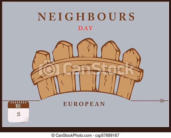 Post Card European Neighbours Day