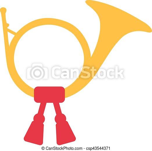 Post Horn - csp43544371
