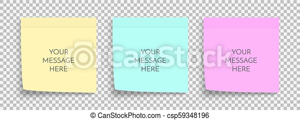 post note paper sheet sticky sticker vector office memo template