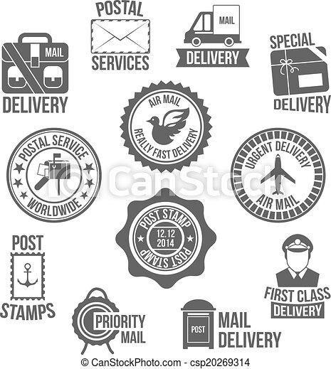 Post service label - csp20269314