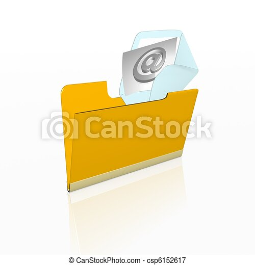 posta elettronica - csp6152617