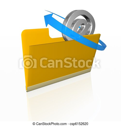 posta elettronica - csp6152620