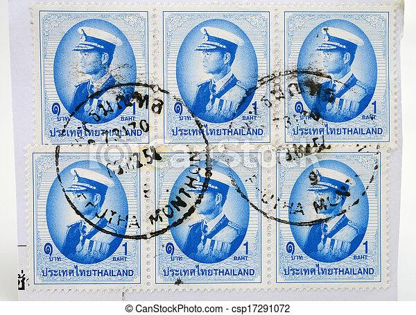 Postage Stamp - csp17291072