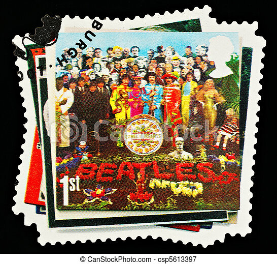 Postage Stamp - csp5613397
