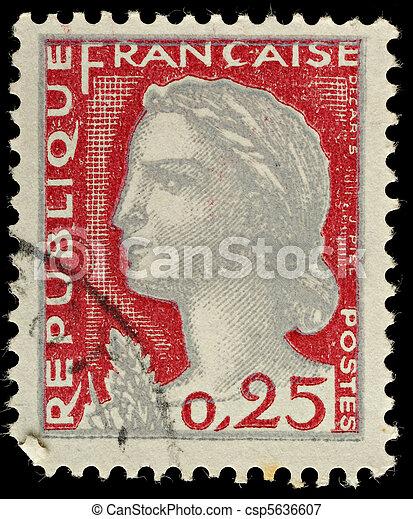 Postage Stamp - csp5636607