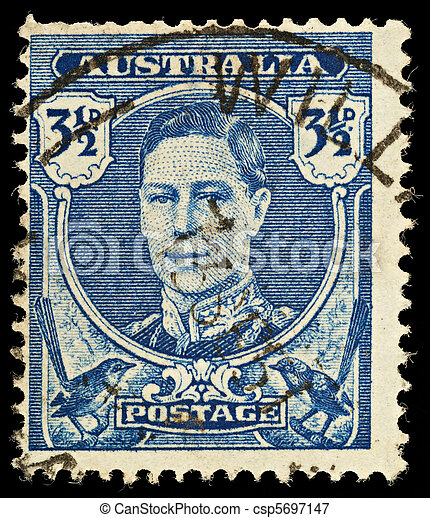 Postage Stamp - csp5697147