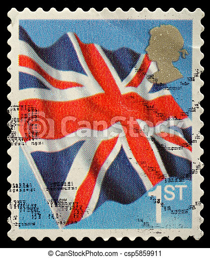Postage Stamp - csp5859911