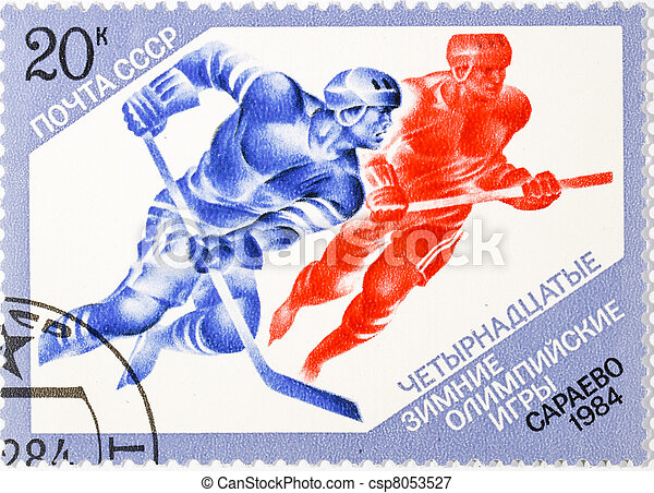 postage stamp  - csp8053527